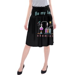 Chemistry Lab Midi Beach Skirt by Valentinaart