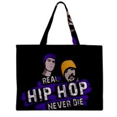 Real Hip Hop Never Die Medium Tote Bag by Valentinaart