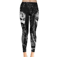 Attila The Hun Leggings  by Valentinaart