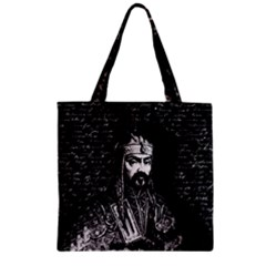 Attila The Hun Zipper Grocery Tote Bag by Valentinaart