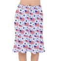 Flag Of The Usa Pattern Mermaid Skirt View1