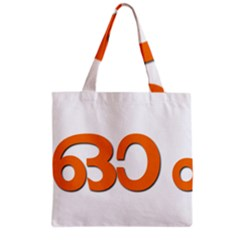 Hindu Om Symbol In Malayalam Script Grocery Tote Bag by abbeyz71