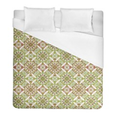 Colorful Stylized Floral Boho Duvet Cover (full/ Double Size) by dflcprints