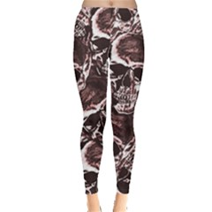 Skull Pattern Leggings  by ValentinaDesign