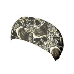 Skull Pattern Yoga Headband by ValentinaDesign
