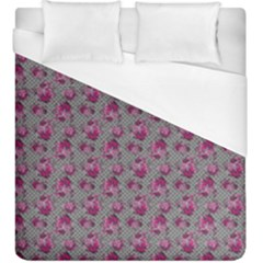 Floral Pattern Duvet Cover (king Size) by ValentinaDesign