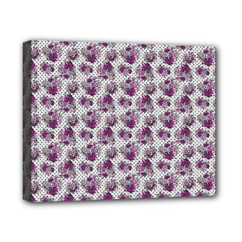 Floral Pattern Canvas 10  X 8  by ValentinaDesign