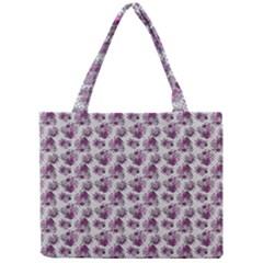 Floral Pattern Mini Tote Bag