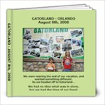 Gatorland Photo Book - 8x8 Photo Book (30 pages)