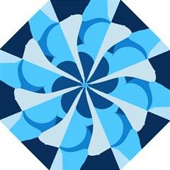 Blue Polka Hook Handle Umbrellas (large) by Mariart