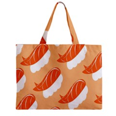Fish Eat Japanese Sushi Medium Tote Bag by Mariart