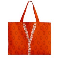 Iron Orange Y Combinator Gears Zipper Mini Tote Bag by Mariart