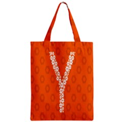 Iron Orange Y Combinator Gears Zipper Classic Tote Bag by Mariart