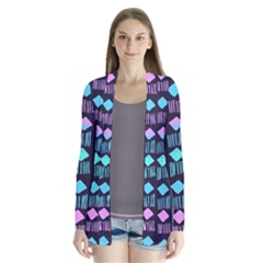 Polkadot Plaid Circle Line Pink Purple Blue Cardigans