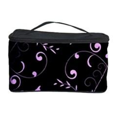 Floral Design Cosmetic Storage Case