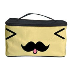 Mustache Cosmetic Storage Case