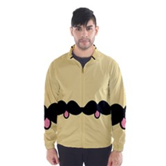Mustache Wind Breaker (men) by Nexatart