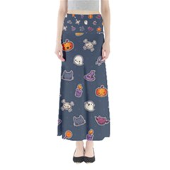Kawaiieen Pattern Maxi Skirts