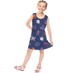 Kawaiieen Pattern Kids  Tunic Dress
