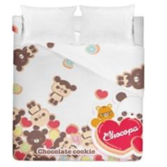 Chocopa Panda Duvet Cover Double Side (queen Size)