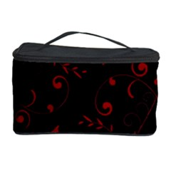 Floral Design Cosmetic Storage Case by ValentinaDesign
