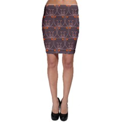 Bears Pattern Bodycon Skirt