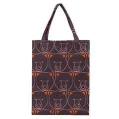 Bears Pattern Classic Tote Bag
