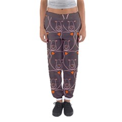 Bears Pattern Women s Jogger Sweatpants by Nexatart
