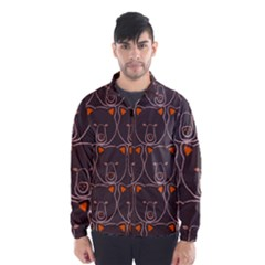 Bears Pattern Wind Breaker (men)