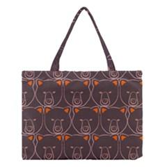 Bears Pattern Medium Tote Bag by Nexatart