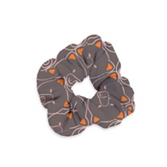 Bears Pattern Velvet Scrunchie