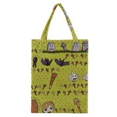 Horror Vampire Kawaii Classic Tote Bag by Nexatart