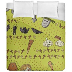 Horror Vampire Kawaii Duvet Cover Double Side (california King Size)
