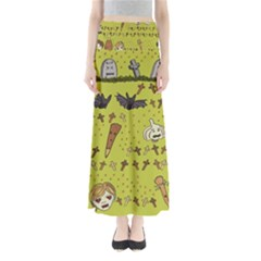 Horror Vampire Kawaii Maxi Skirts