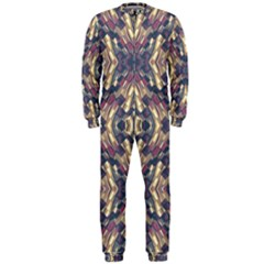 Multicolored Modern Geometric Pattern Onepiece Jumpsuit (men)