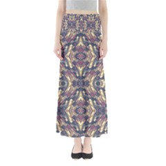 Multicolored Modern Geometric Pattern Maxi Skirts by dflcprintsclothing
