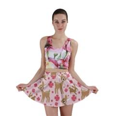 Preety Deer Cute Mini Skirt