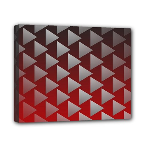 Netflix Play Button Pattern Canvas 10  X 8