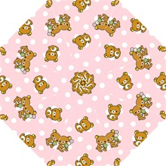 Kawaii Bear Pattern Golf Umbrellas by Nexatart