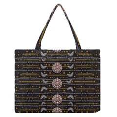 Pearls And Hearts Of Love In Harmony Medium Zipper Tote Bag by pepitasart