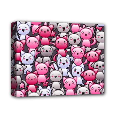 Cute Doodle Wallpaper Cute Kawaii Doodle Cats Deluxe Canvas 14  X 11