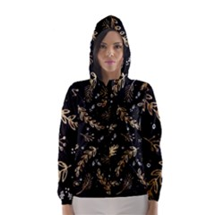 Kawaii Wallpaper Pattern Hooded Wind Breaker (women)
