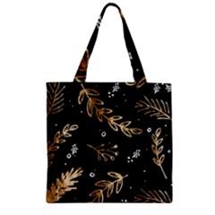 Kawaii Wallpaper Pattern Zipper Grocery Tote Bag by Nexatart
