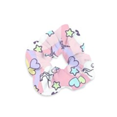 Unicorn Rainbow Velvet Scrunchie
