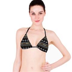 Kawaii Pattern Bikini Top by Nexatart