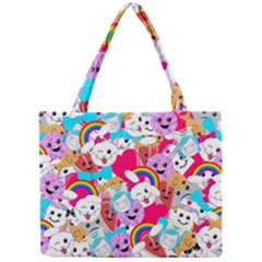 Cute Cartoon Pattern Mini Tote Bag by Nexatart