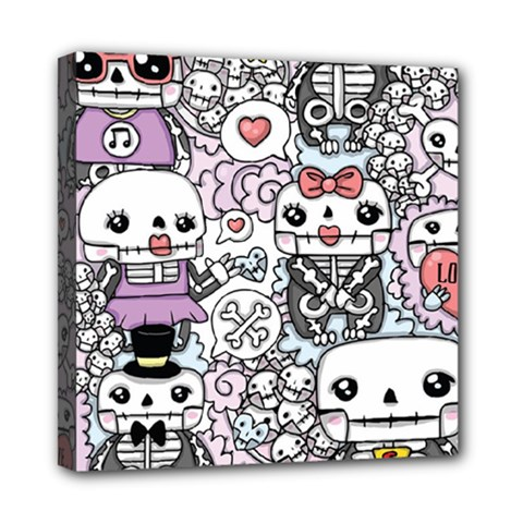 Kawaii Graffiti And Cute Doodles Mini Canvas 8  X 8  by Nexatart