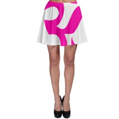 Hindu Om Symbol (pink) Skater Skirt by abbeyz71