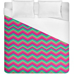 Retro Pattern Zig Zag Duvet Cover (king Size)