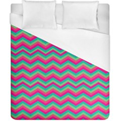 Retro Pattern Zig Zag Duvet Cover (california King Size)